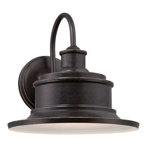 bronze wall light fixtures quoizel seaford imperial bronze outdoor wall light