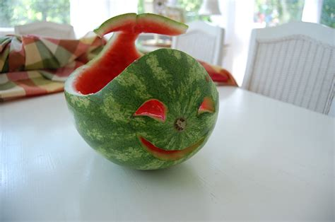 Carve a Watermelon into a Creative Shape for a Fun Table ... Watermelon Carving Ideas