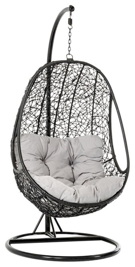 modern outdoor swing chair renava kauai outdoor hanging chair modern hammocks and