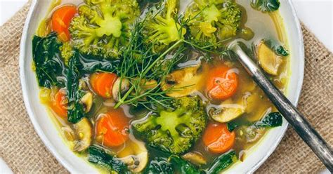 Green Detox Soup Oh She Glows by Kale Broccoli Carrot Soup The Oh She Glows