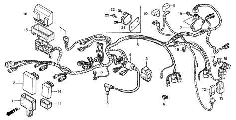 honda foreman 500 parts diagram honda foreman 500 carburetor diagram car interior design