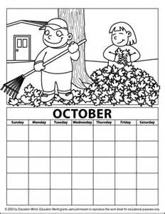 october coloring pages free coloring pages of october
