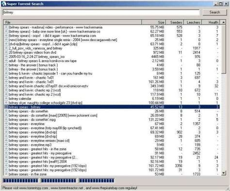 Toronto Search Torrent Search