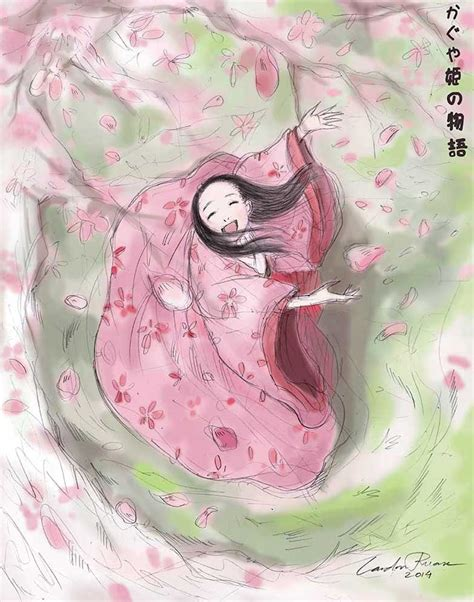 kaguya hime kaguya hime no monogatari by ncillustration on deviantart