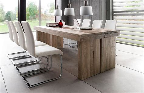 seater oak table  chairs