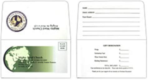 Church Offering Envelopes And Donation Remittance Envelopes Remit Envelopes Template