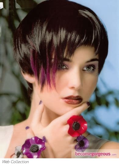 black hair website gallery pictures hair highlights ideas purple hair highlights