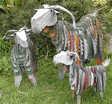 Steel Garden Nz Corrugated Iron Animals Sheep Corrugated Iron Goat