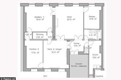 Plan Salon Cuisine Sejour Salle Manger by Plan Salon Cuisine Sejour Salle Manger 13 14 Plans Pour