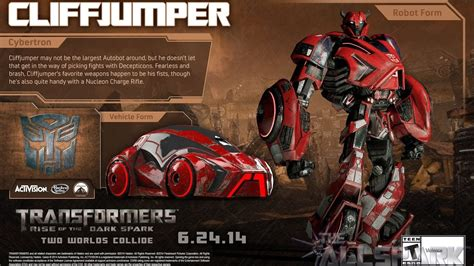 Transformer Rise Of The Spark transformers rise of the spark xb1 cliff jumper