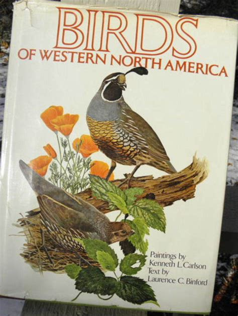 bird coffee table book birds of western north america nonpasserines 1974