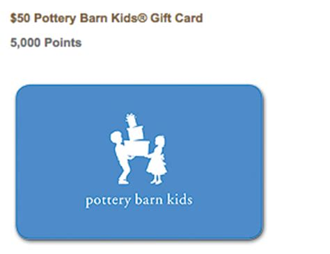 Pottery Barn Rewards Certificate back to school time with american express rewards and 250