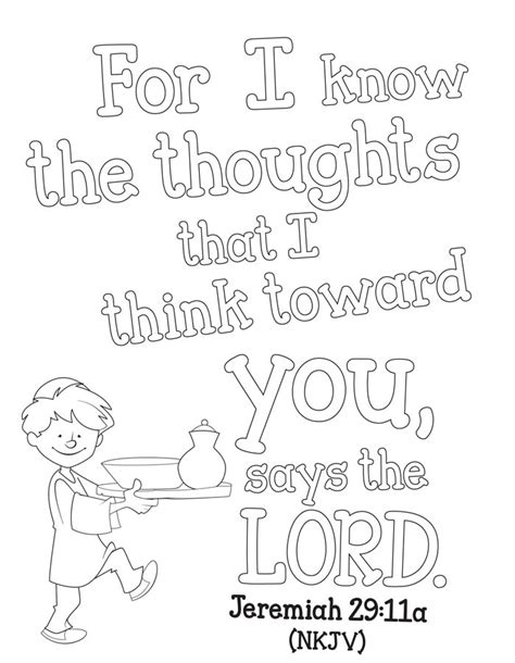 free bible coloring pages jeremiah jeremiah 29 11 coloring pages