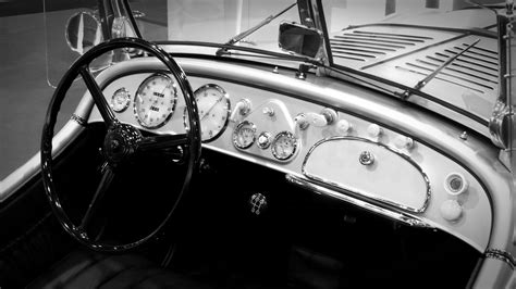 images black  white steering wheel dashboard
