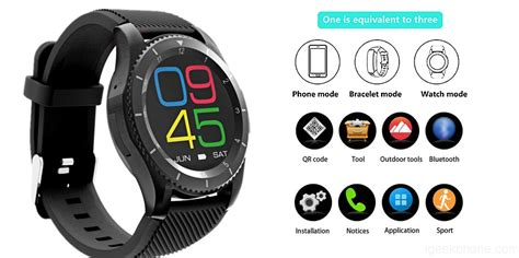 Smartwatch No 1 G8 no 1 g8 smart with 3 amazing modes design hardware features review