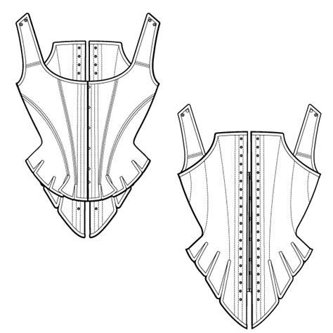 pattern corset download free corset pattern half boned stay ralphpink com