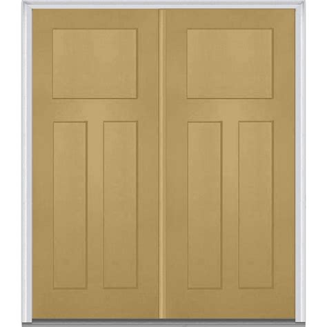 shaker doors home mmi door 64 in x 80 in left hand inswing craftsman 3