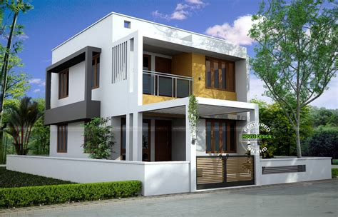 contemporary home design plans best contemporary inspired kerala home design plans