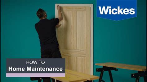 how to hang a interior door how to hang an interior door with wickes