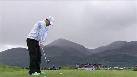 rory iron swing 2015 irish open rory mcilroy iron swing slo mo golf channel