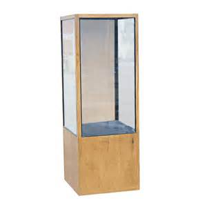 Display Cases For Glass 77 Quot Wood And Glass Display