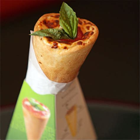Kono Pizza Oh No by Foods That Come In A Cone Foods You Can Eat Out Of A Cone