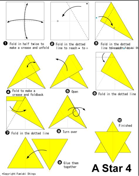 How To Make A Origami Shuriken - 4 easy origami for