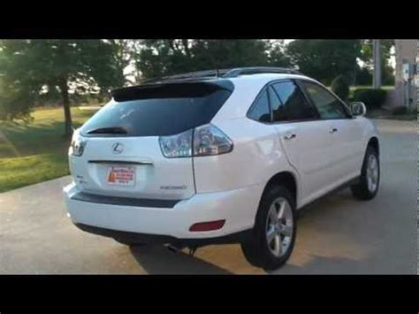 white lexus 2009 2009 lexus rx 350 awd pearl white for sale see www