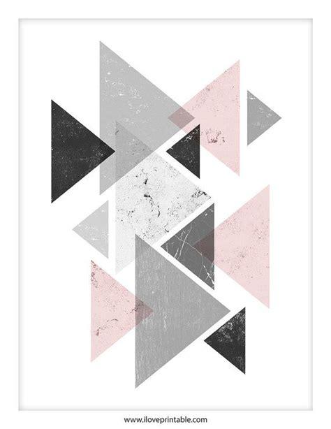 Wohnzimmer Streichen Muster 4834 die besten 25 wandgestaltung dreiecke ideen auf