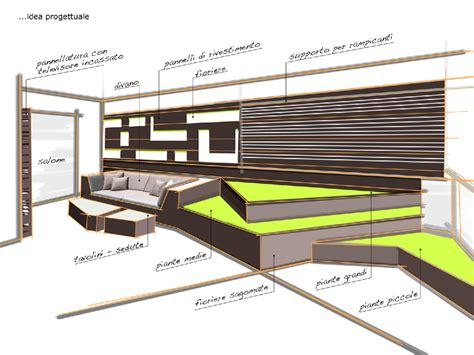 progetto terrazzo il living sul terrazzo foto 1 livingcorriere