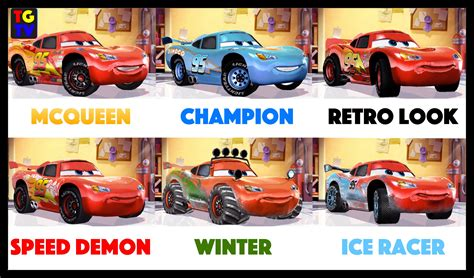 Auto Malen Spiele by Cars Lightning Mcqueen Fast As Lightning All 6 Paint