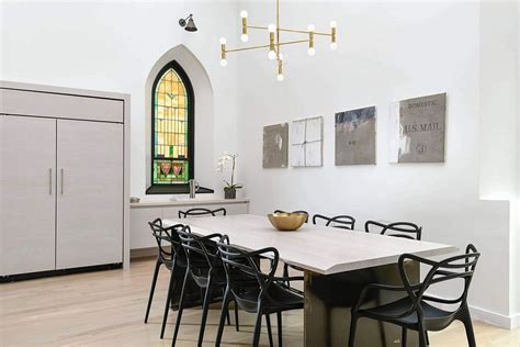 fabulous living room in this church conversion benefits chicago church converted into a soaring single family home