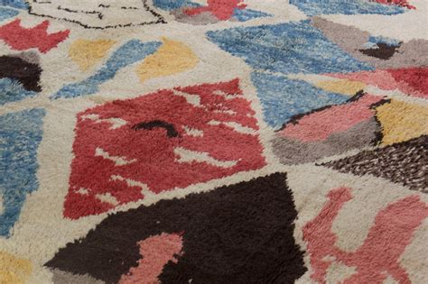 Colorful Modern Rugs Colorful Contemporary Moroccan Wool Rug For Sale At 1stdibs