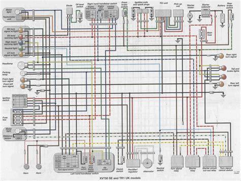 82 yamaha virago 920 wiring diagram get free image about
