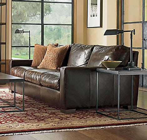 restoration hardware leather sofa reviews restoration hardware maxwell leather sofa restoration