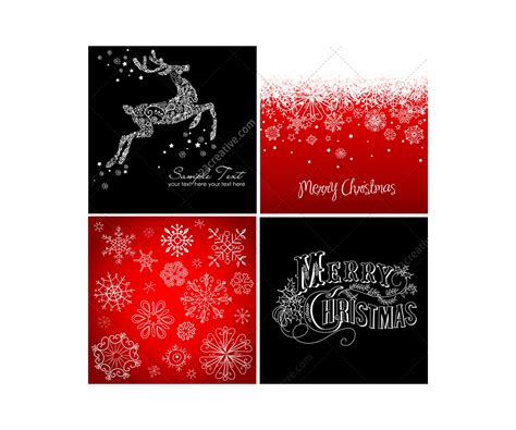 christmas cards  backgrounds vectors  card templates  christmas motives