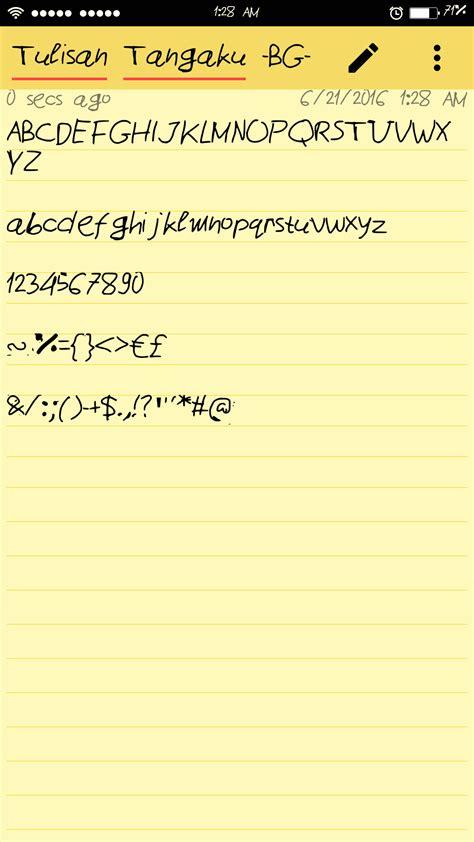 cara jadikan tulisan tangan sendiri jadi font di android cara jadikan tulisan tangan sendiri jadi font di android