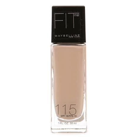 Bedak Maybeline Spf 18 Seri 3 maybelline fit me foundation spf 18 ivory 115