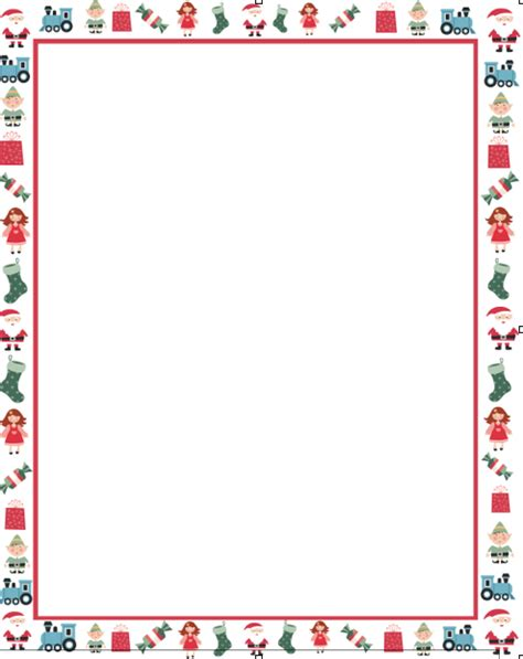 letter border templates free letters to santa with free template here come the