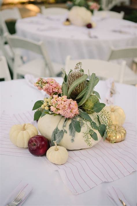 17 Best ideas about Pumpkin Wedding Centerpieces on