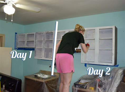 Can You Paint Laminate Wardrobes by Painting The Kitchen Cabinets Jen Nelson