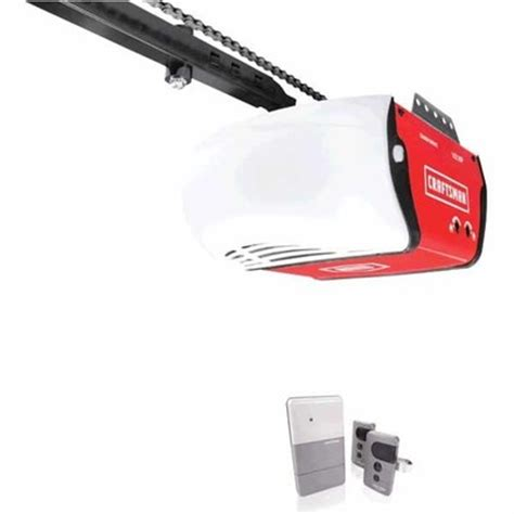 craftsman 174 1 2 hp garage door opener with homelink