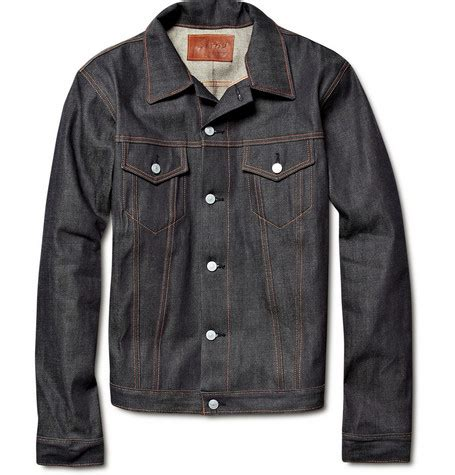 werkstatt jacke designer denim jackets on mr porter