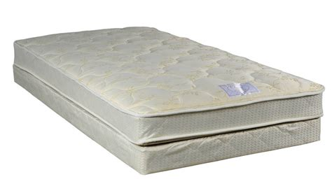 Single Mattress Deals Classic Beige Tight Top Firm Single Sided Mattress