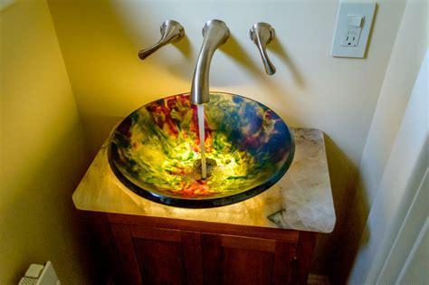 Lighted Wire Melt Sink   Renegade Art Glass