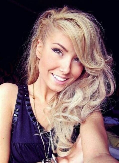 edgy long hairstyles over 50 947 best half shaved hair images on pinterest pixie
