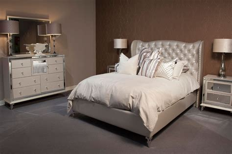 simple tufted headboard bedroom set bed designs