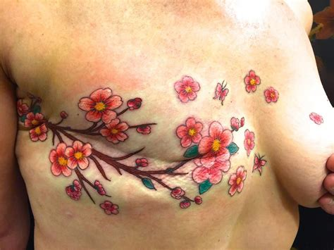 flower nipple tattoo an exle of a post masectomy by vyvyn lazonga