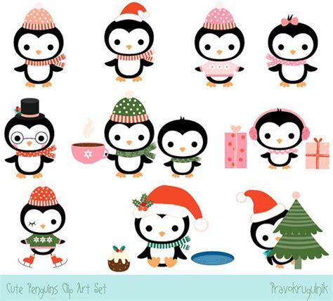 clipart inverno penguin clipart penguin clip set