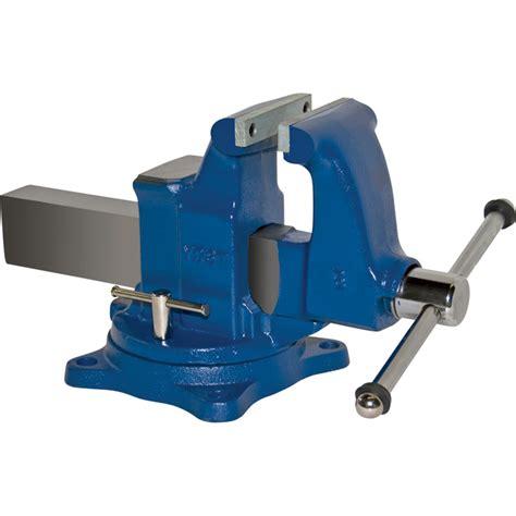 machinist bench vise yost heavy duty industrial machinist bench vise swivel